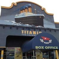 Photo taken at Titanic The Artifact Exhibition by Desirai L. on 5/13/2012