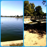 Photo taken at Lake Balboa Park by Stephanie R. on 6/22/2012