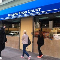Photo taken at Hudson Food Court by Katie K. on 4/9/2012