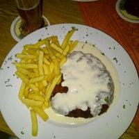 Photo taken at Schnitzel's by Shmupi K. on 9/1/2012