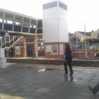 Photo taken at Fratton Railway Station (FTN) by Robin W. on 4/12/2012