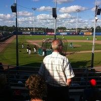 Photo taken at Pim Mulier Baseball Stadium by Robbert U. on 7/20/2012