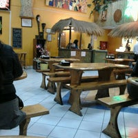 Photo taken at Pepe's Pizza by Alejandra L. on 7/27/2012
