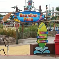 Photo taken at Hawaiian Falls by Matt A. on 8/15/2012