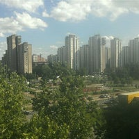 Photo taken at Park u bloku 62 by Tatjana S. on 6/6/2012