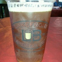 Photo taken at Lakefront Brewery by Nick R. on 6/8/2012