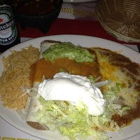 Photo taken at El Mariachi by Angelica on 2/19/2012