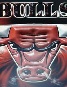 Assistindo o Grande CHICAGO BULLS