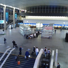 Photo taken at Warszawa Centralna by Rafal E. on 6/1/2012
