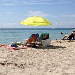 Photo taken at 2nd Street Beach by Gaetano E. on 5/27/2012