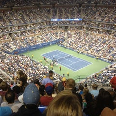 Photo taken at 2014 US Open Tennis Championships by Michael F. on 9/2/2012