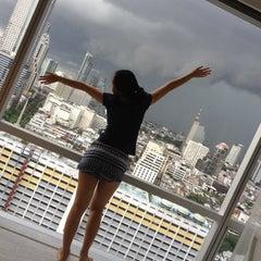 Photo taken at Pullman Bangkok Hotel G by Ivy L. on 8/18/2012