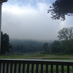 Photo taken at The Shawnee Inn and Golf Resort by Melissa M. on 8/8/2012