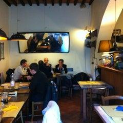 Photo taken at Trattoria da Mirella by Claudia L. on 2/10/2012