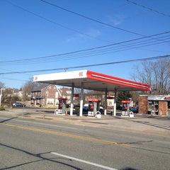 Photo taken at Lukeoil by Chris S. on 2/28/2012