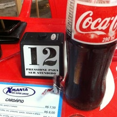 Photo taken at X-Mania Burgers by Charles R. on 4/13/2012