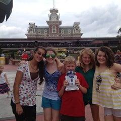 Photo taken at Walt Disney World Railroad - Main Street Station by Mike R. on 6/8/2012