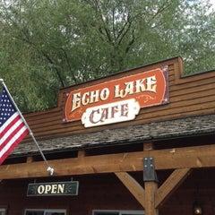 Photo taken at Echo Lake Cafe by Eric L. on 6/29/2012