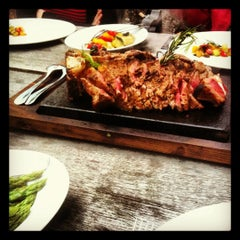 Photo taken at Restaurant Lagerhaus by Oliver on 6/21/2012