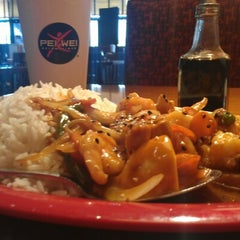 Photo taken at Pei Wei by Dudley P. on 8/14/2012