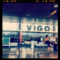 Photo taken at Aeropuerto de Vigo (VGO) by Pablo F. on 6/6/2012