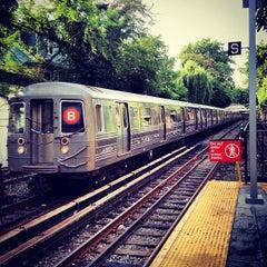 Photo taken at MTA Subway - Newkirk Plaza (B/Q) by Felio on 8/13/2012