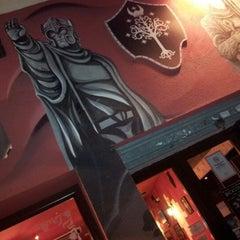 Photo taken at Cervecería Gondor by ROCIO on 6/11/2012