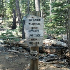 Photo taken at Desolation Wilderness by Brett R. on 8/12/2012