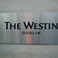 Photo taken at The Westin Dublin by Jazz O. on 7/5/2012