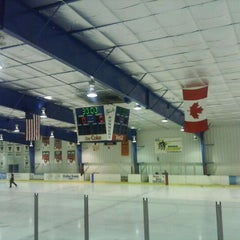 Photo taken at BladeRunners Ice Complex by Frank K. on 2/4/2012