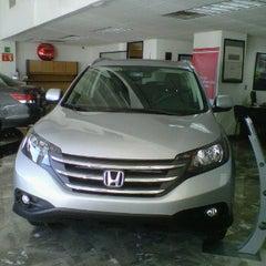 Photo taken at Honda by cesar augusto n. on 5/18/2012
