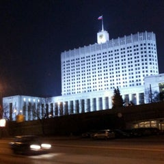 Photo taken at Краснопресненская набережная by Nadezda S. on 4/15/2012