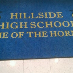 Photo taken at Hillside High School by Blackberri on 5/20/2012