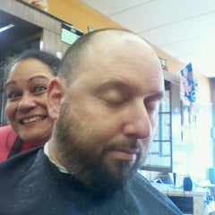 Photo taken at Clifton Barber Shop by Ray F. on 4/6/2012