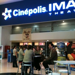 Photo taken at Cinépolis by Anna on 3/2/2012