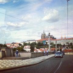 Photo taken at Mánesův most by Hakume E. on 7/19/2012