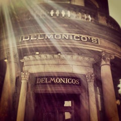 Photo taken at Delmonico's Restaurant Steak House Grill by Noah F. on 9/1/2012