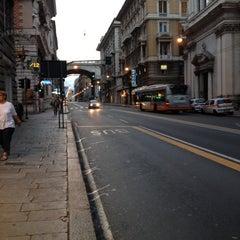 Photo taken at Via XX Settembre by Fabio on 8/24/2012