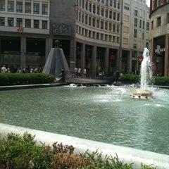 Photo taken at Piazza San Babila by Michele M. on 6/6/2012