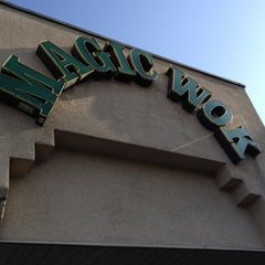 Photo taken at Magic Wok by Catherine M. on 5/24/2012