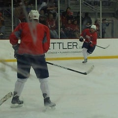 Photo taken at Kettler Capitals Iceplex by Gene V. on 3/3/2012
