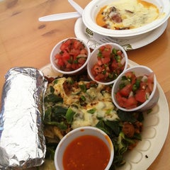 Photo taken at La Super-Rica Taqueria by Adam S. on 5/28/2012