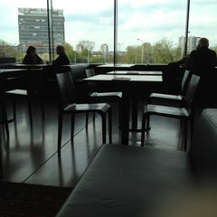Photo taken at Grand Café De Singel by Sarah A. on 4/14/2012