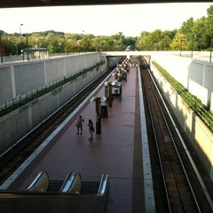 Photo taken at Southern Avenue Metro Station by Bob S. on 8/31/2012