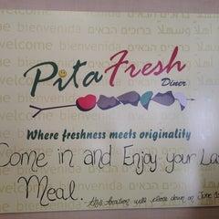 Photo taken at Pita Fresh Diner by Ben H. on 5/31/2012