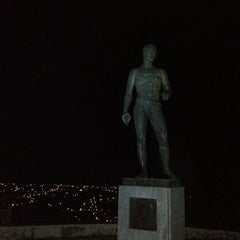 Photo taken at Άγαλμα του Μπρουκ (Brook's Statue) by George L. on 8/17/2012