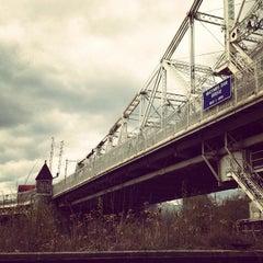 Photo taken at Macombs Dam Bridge by Lasse K. on 4/11/2012