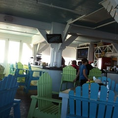 Photo taken at Jimmy's On The Pier by TheSquirrel on 4/21/2012