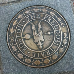 Photo taken at The Freedom Trail by Anne D. on 6/9/2012