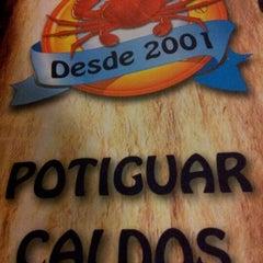 Photo taken at Potiguar Caldos by Raphael Alisson S. on 8/20/2012